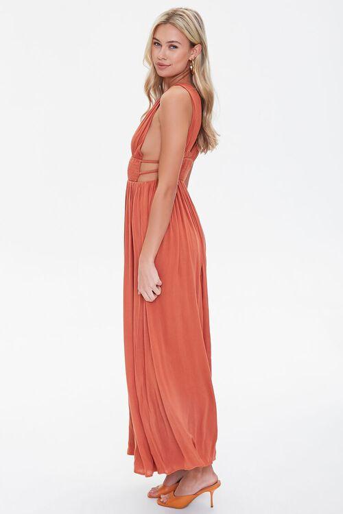 Plunging Maxi Dress, image 2