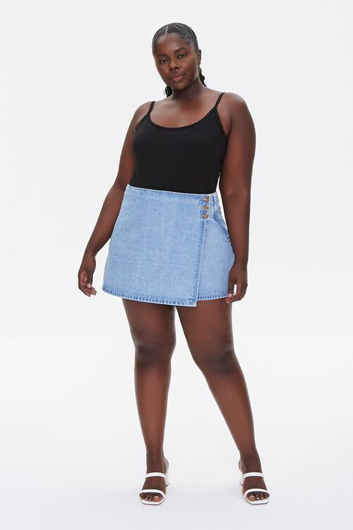 Plus Size Basic Organically Grown Cotton Bodysuit, image 4