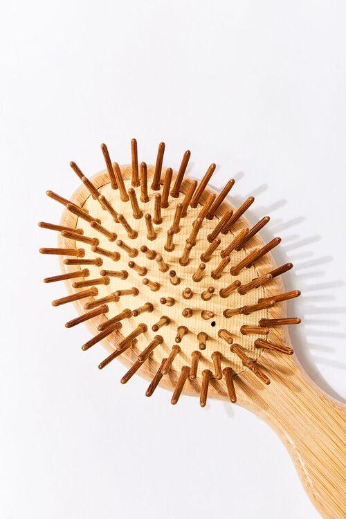Bamboo Round Hair Brush, image 3