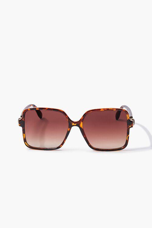 Tinted Square Sunglasses, image 1