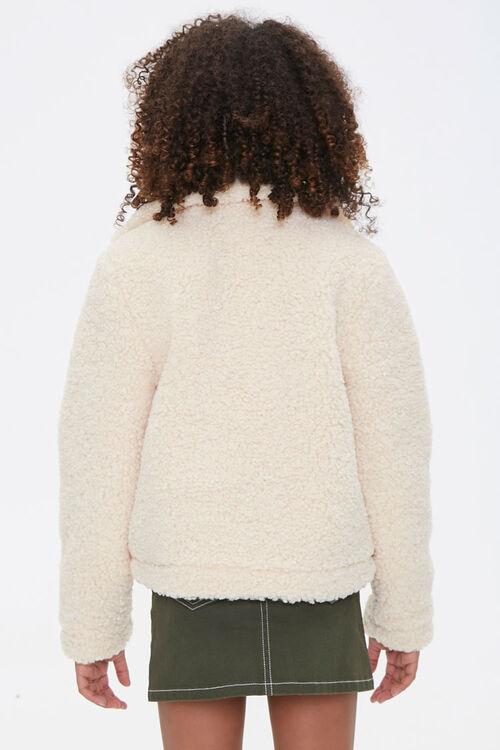 Girls Faux Shearling Jacket (Kids), image 3