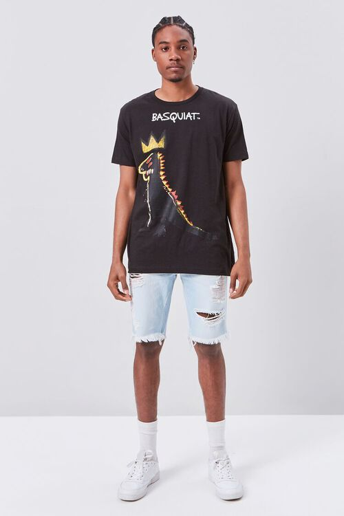BLACK/MULTI Jean-Michel Basquiat Graphic Tee, image 4
