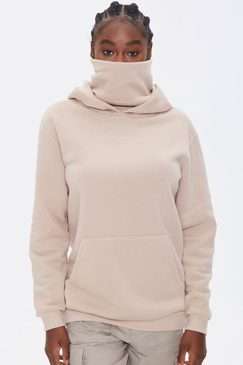 Face Mask Hoodie