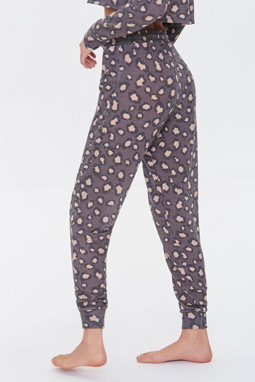 Leopard Print Lounge Pants, image 3