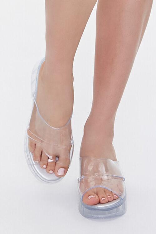 Jelly Platform Sandals, image 4