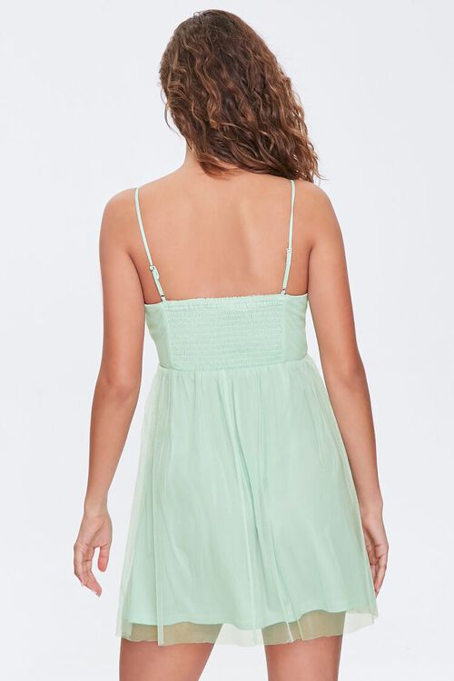 Fit & Flare Cami Mini Dress, image 3