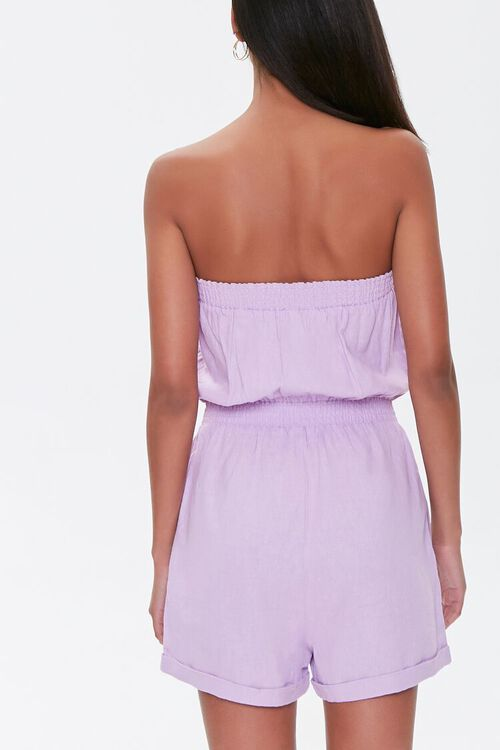 Kendall & Kylie Linen-Blend Romper, image 4