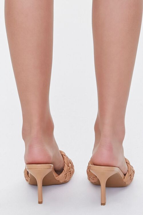 Basketwoven Square-Toe Heels, image 3