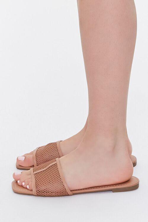 Mesh Square-Toe Sandals, image 2