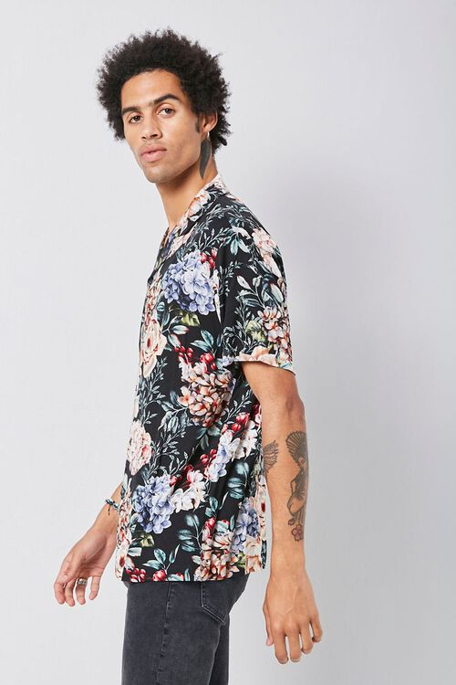 Classic Fit Floral Shirt, image 2
