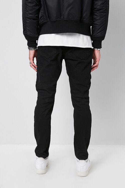 Skinny Moto Denim Pants, image 3