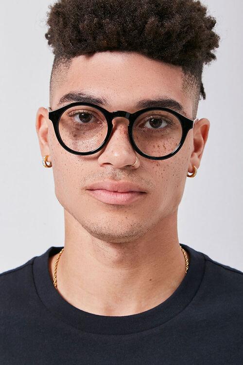 Men Round Reader Glasses, image 2
