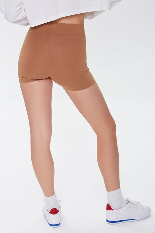 Basic Organically Grown Cotton Biker Shorts, image 4