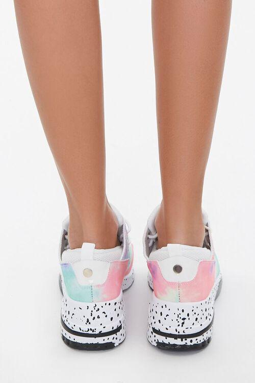 Glitter-Toe Patternblock Sneakers, image 3