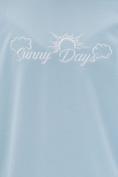 Embroidered Sunny Days Pullover, image 5