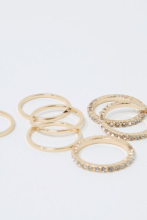 Rhinestone Ring Set, image 2