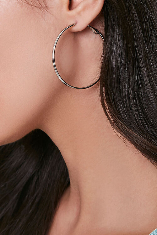 Medium Hoop Earrings, image 1