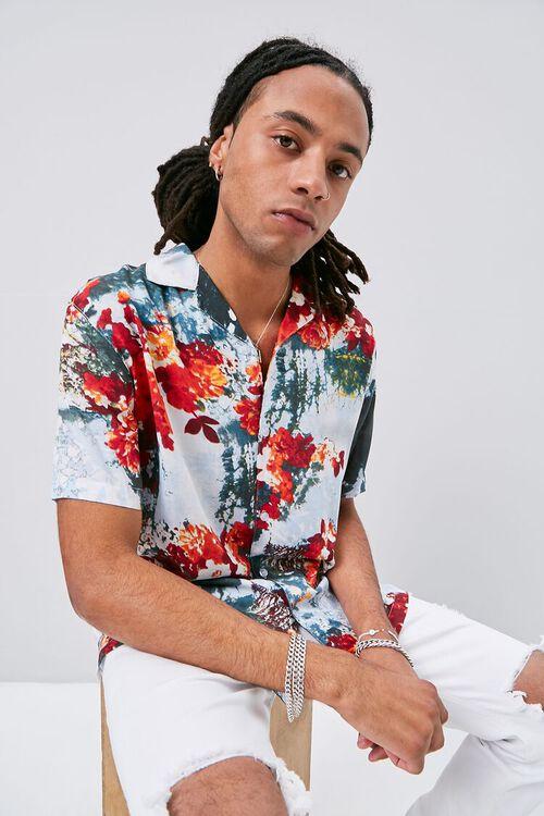 Abstract Floral Print Shirt, image 1