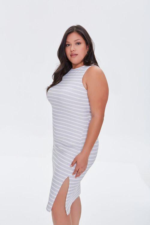 Plus Size Striped Tank Dress, image 2