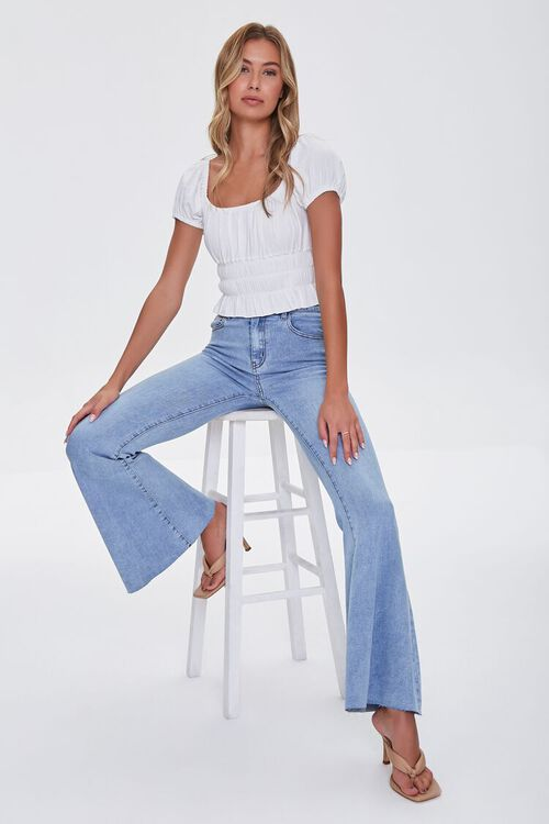 High-Rise Flare Jeans, image 1