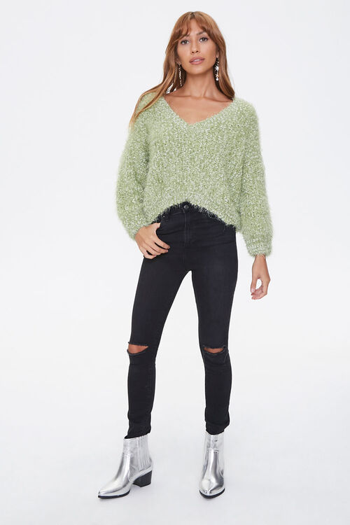 Fuzzy Chenille Sweater, image 4