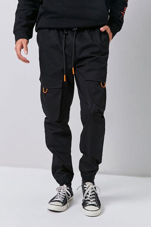 Dual Drawstring Cargo Pants, image 2
