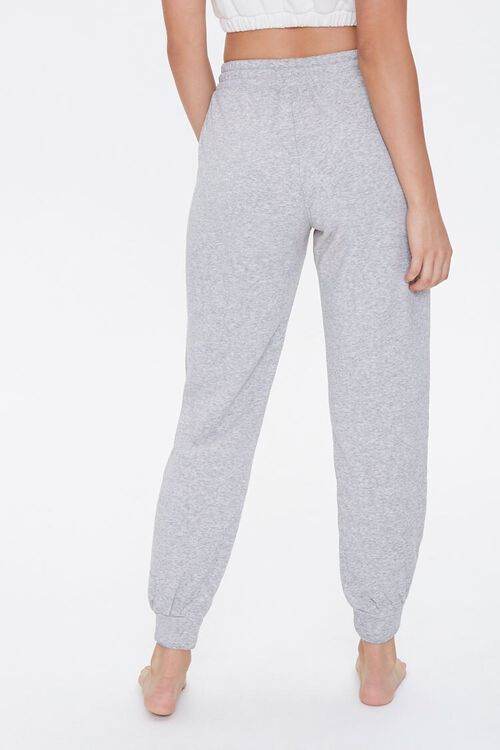 HEATHER GREY French Terry Pajama Joggers, image 4