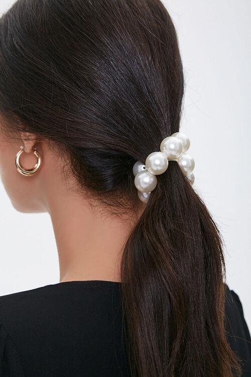 Faux Pearl Hair Tie, image 1