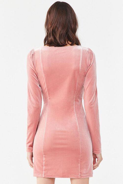 Velvet Mini Dress, image 3