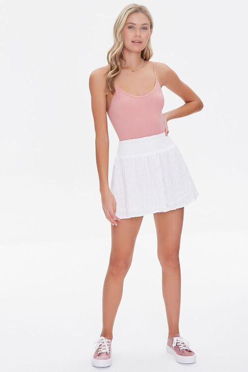 Textured Mini Skirt, image 5