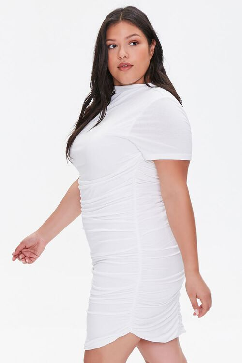 Plus Size Ruched Bodycon Dress, image 2