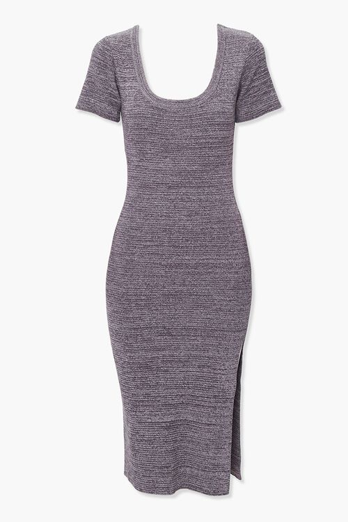 Heathered Bodycon Dress, image 1