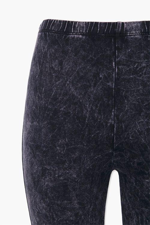 Stone Wash Biker Shorts, image 3