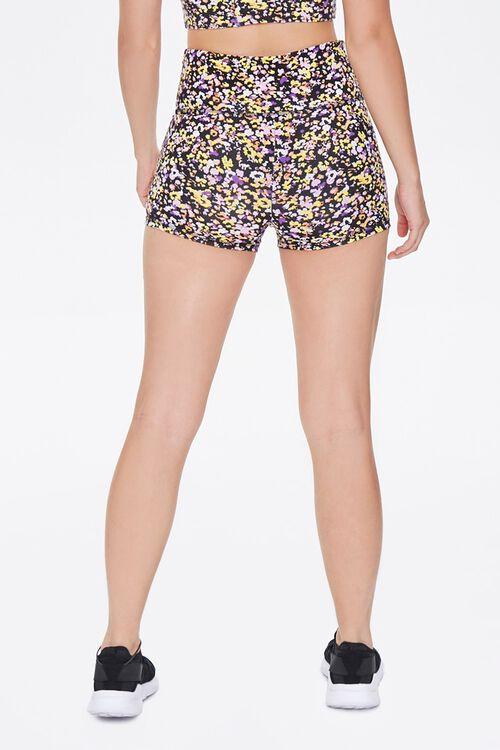 Active Floral Biker Shorts, image 4