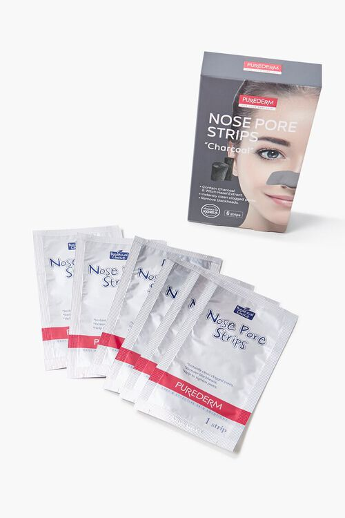 CHARCOAL Purederm Charcoal Nose Pore Strips, image 2