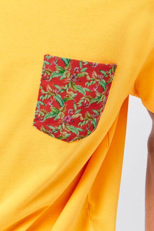 Tropical Print Pocket Tee, image 5
