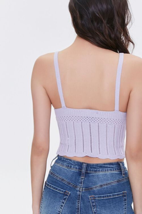 Sweater-Knit Pointelle Cami, image 4