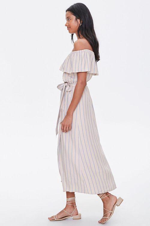 Striped M-Slit Maxi Dress, image 2