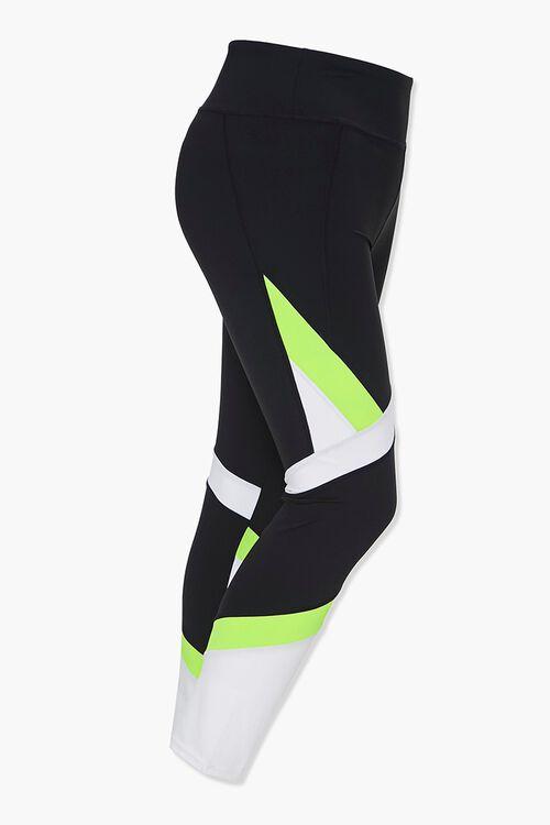 Plus Size Active Colorblock Leggings, image 2