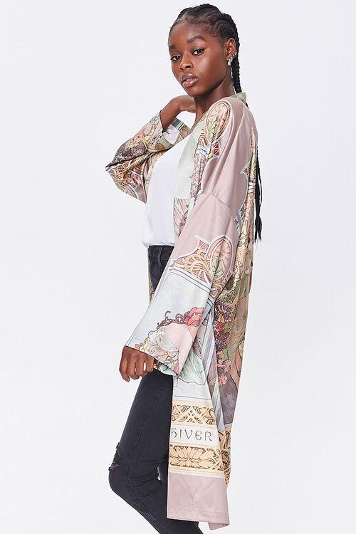 Alphonse Mucha Print Kimono, image 2