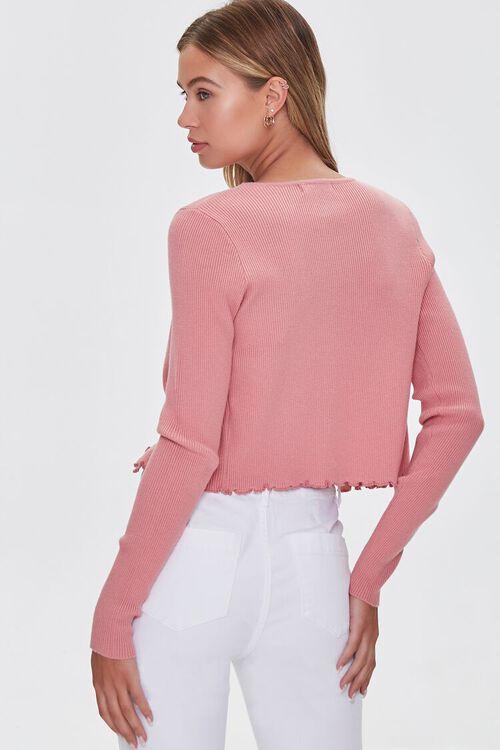 Daisy Print Cardigan Sweater, image 3