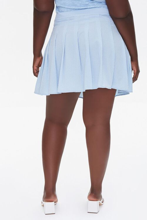 Plus Size Plaid Mini Skirt, image 4