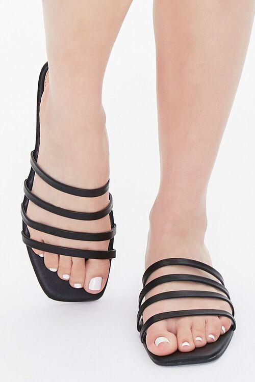 Strappy Square-Toe Sandals, image 4