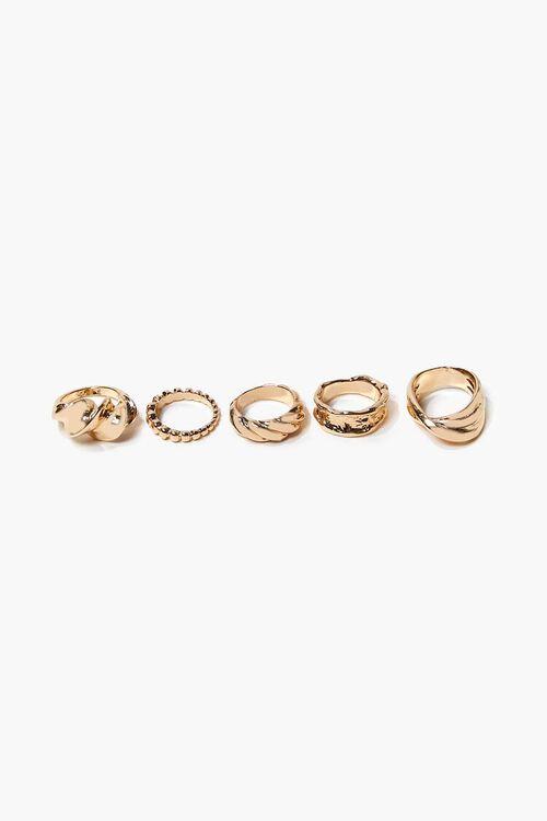 Twisted Ring Set, image 2