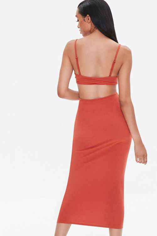 Cutout Cami Midi Dress, image 3