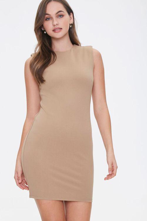 Sleeveless Bodycon Dress, image 1
