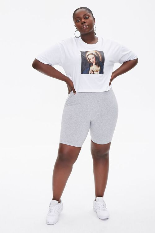 Plus Size Mother Mary Graphic Tee, image 4
