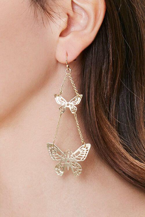 Butterfly Chandelier Earrings, image 1
