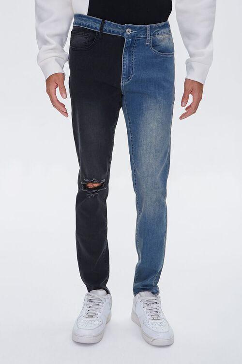 Colorblock Skinny Jeans, image 2