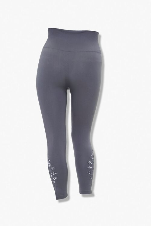 Plus Size Cutout Capri Leggings, image 2
